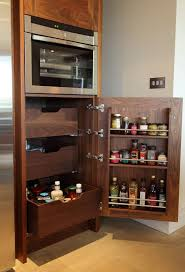 Kitchen Cabinets Spice Rack Pull Out 25 Best Walnut Kitchens Images On Pinterest Bespoke Kitchen
