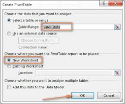 Creating A Pivot Table In Excel Excel Pivot Table Tutorial U2013 How To Make And Use Pivottables In Excel