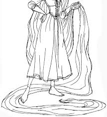 how to draw rapunzel from tangled with easy step by step drawing