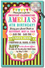candy party sweet birthday invitation di 263 harrison