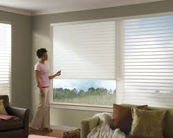 motorized livingroom window treatments new york shades