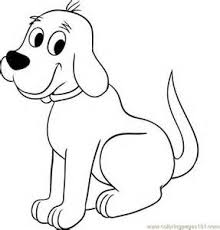 coloring page of a big dog animals coloring page print animals pictures to color at big dog