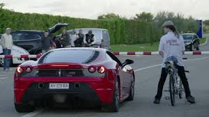 porsche bicycle car man on 207 mph bicycle humiliates ferrari at dragstrip