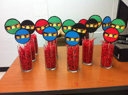 ninjago party supplies lego ninjago party table decorations so easy to make lego