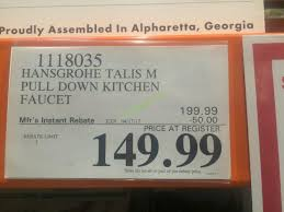 costco kitchen faucets hansgrohe kitchen faucets talis s talis s higharc kitchen faucet