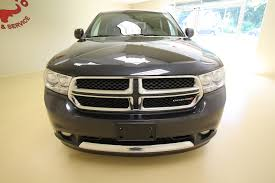2013 dodge durango crew 4wd loaded with options navigation leather