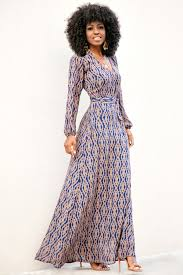 sleeve maxi dress style pantry aztec print sleeve maxi dress