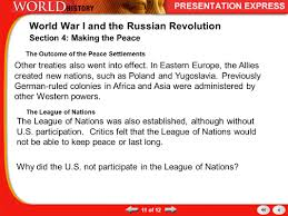 world war i and the russian revolution ppt download