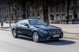 mercedes e400 coupe 2018 mercedes e400 4matic coupe drive review