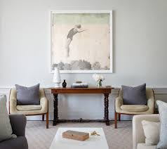 five ways to hang art above a console table a thoughtful place