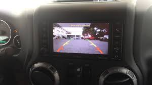 european jeep wrangler rear camera enabled on european rhw media center 735n on 2013 jeep