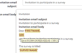 sid placeholder in email template limesurvey forums