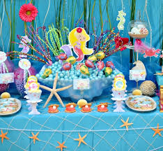 the sea party the sea mermaid birthday party party ideas party printables