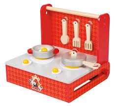 cuisine en bois jouet janod acheter cuisine pliable cocotte bois jouet janod