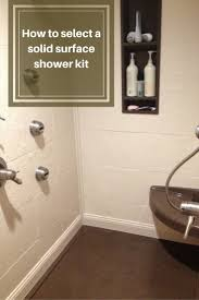 Bathtub Wall Kit Shower Acrylic Shower Walls Beautiful Shower Base And Walls Kit