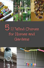 Wind Chimes Diy by 5 Diy Wind Chimes For Homes And Gardens Discountqueens Com