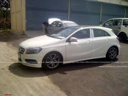 mercedes f class price in india scoop all mercedes a class testing in india page 2