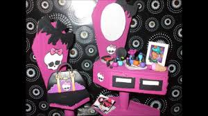 monster high home decor monster high house furniture handmade youtube