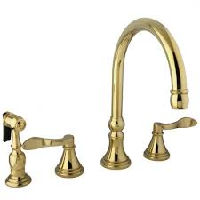 beautiful polished brass kitchen faucets best kitchen faucet