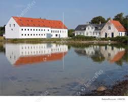 picture of mansion big farmhouse funen denmark