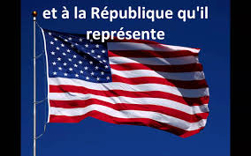 Pledge Of Allegiance Worksheet Pledge Of Allegiance French Read Along Always Learning French