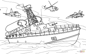 rocket boat coloring page free printable coloring pages