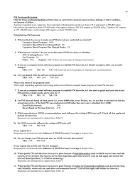 Preventive Maintenance Spreadsheet Appendix B Survey With Summarized Responses Preventive