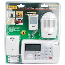 Home Security by Homesafe 4 Piece Wireless Home Security System The Home
