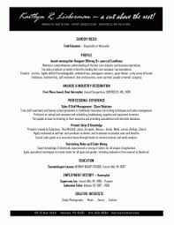 resume examples cosmetology resume templates objectives cover