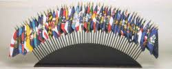 small flags bases or stands for 4x6