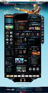 gaming design showcase of web design in china from imitation to innovation