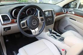 jeep grand cherokee interior jeep grand cherokee review and photos