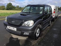 hyundai terracan 2 9 crtd manual 5dr 4wd 2005 in lymm cheshire