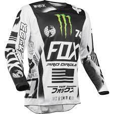 monster motocross gloves fox 2017 180 pro circuit le monster energy jersey mxstore picks