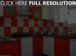 Modular Kitchen Designs With Price Witching Modular Kitchen Design Ideas With L Shape And White Red