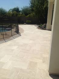 Cutting Patio Pavers Pool Deck Vein Cut Paver Design Traditional Patio Phoenix