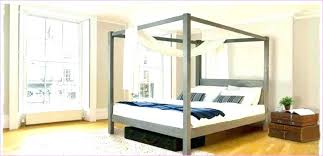 4 Poster Bed Frames Four Poster Bed Canopy Frame Four Post Canopy Bed Frame 1