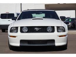 2007 ford mustang california special used 2007 ford mustang for sale mesa az vin 1zvft85h775363081