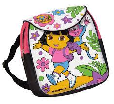 dora colour backpack dora explorer amazon uk toys u0026 games
