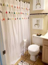Large Drapery Tassels How To Make A Tassel Shower Curtain Like Anthropologie Bathrooms