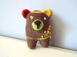 teddy bear crochet dolls crochettoyscorner