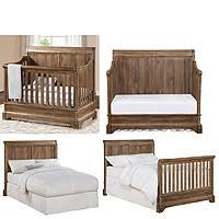 bertini pembrooke 5 in 1 convertible crib natural rustic