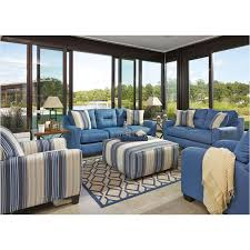 ashley furniture blue sofa ashley furniture forsan nuvella blue living room sofa
