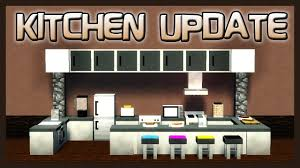 mrcrayfish u0027s furniture mod showcase kitchen update youtube