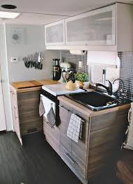 mobile home kitchen remodeling ideas homes on wheels 5 travel trailer makeovers we love porch advice