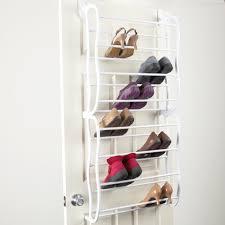 Shoe Rack For Closet Door Useful Ideas Shoe Racks For Closets Home Design Ideas