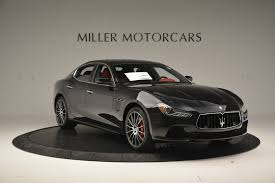 maserati ghibli sport package 2017 maserati ghibli s q4 stock m1685 for sale near westport ct