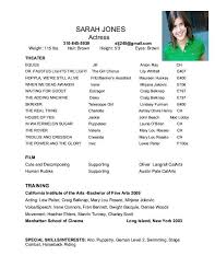 free acting resume template free acting resume template 10