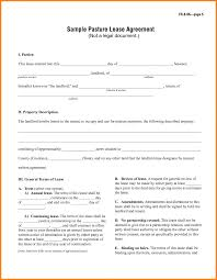 free simple lease agreement template love templates free sample of