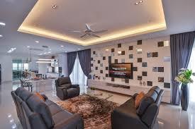 Modern Bungalow Interior Design Ini Site Names Forummarket - Bungalow living room design